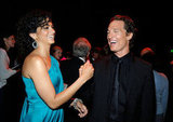 Matthew McConaughey and Camila Alves made each other laugh at the January 2009 AFI Life Achievement Awards in LA.