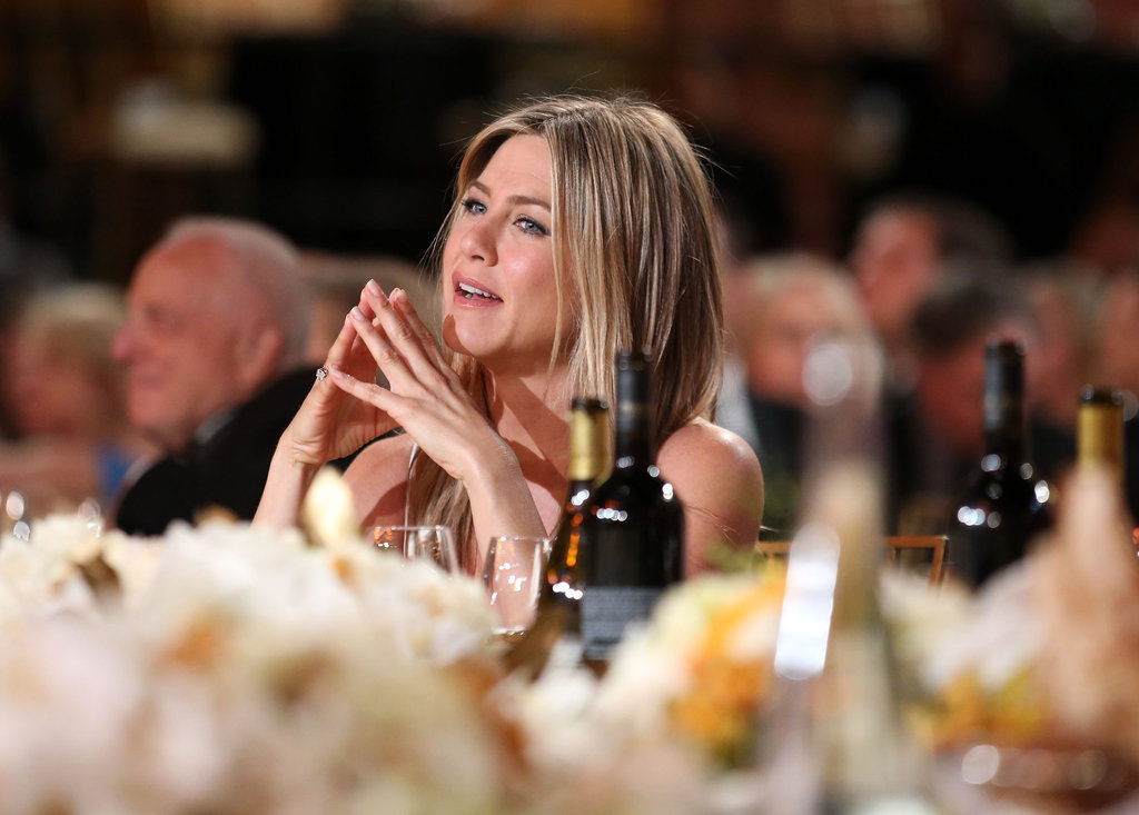 Jennifer Aniston was spotted at an AFI gala.