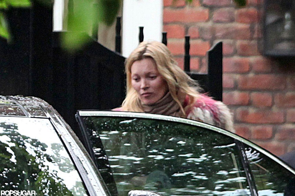 Kate Moss wore fur in June.