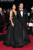 Matthew McConaughey and Camila Alves posed at the February 2011 Academy Awards in LA.