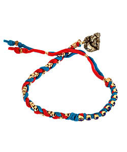 Kris Nations Blue Lapis Friendship Bracelet ($70)