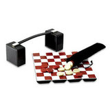 Got a classic gamer on your hands? This Wolf Designs Checker Set ($60) is great for traveling with style.