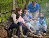 Kate Middleton spent the day with children from Expanding Horizons primary school outdoor camp.