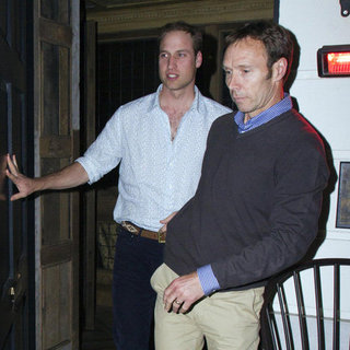 Prince William Pictures With Shirt Unbuttoned
