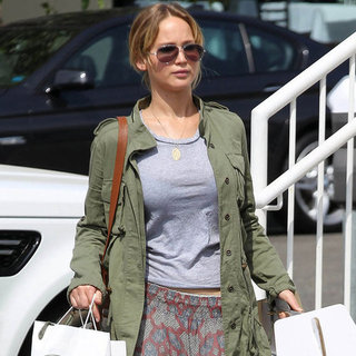 Jennifer Lawrence Shopping in LA Pictures