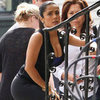 Salma Hayek Pictures on Grown Ups 2 Set