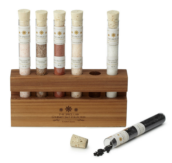 Salts of the World Test Tube Set ($35)