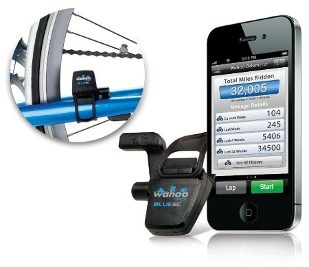 Wahoo Blue SC Speed and Cadence Sensor For iPhone 4S ($60)