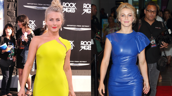 See Julianne Hough Channel Her Inner Rock Star at the Rock of Ages Premiere