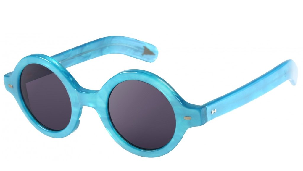 The pretty blue hue matched and retro round shape make for a fun pair of sunglasses. Gant by Michael Bastian Alice Sunglasses ($120, originally $200)