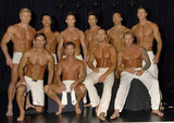 The Chippendales inspired the Australian male stripper troupe Thunder From Down Under. Here they are posing for a calendar shoot in 2007.