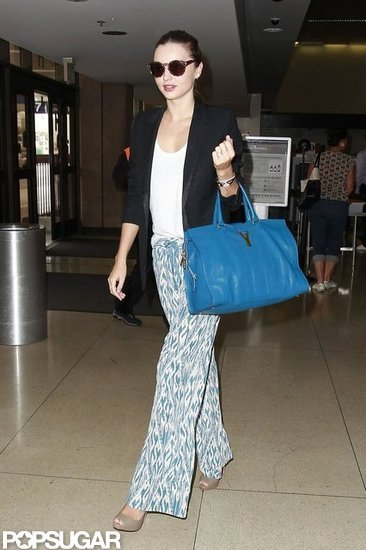 Miranda Kerr Heads Out on Her Latest Trip