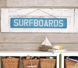 Pottery Barn Kids Surfboard Plaque ($39)