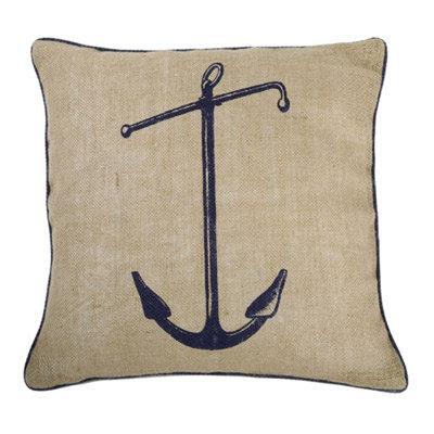 Thomas Paul's classic Seafarer Jute Pillow ($70) is an easy way to add Summer style to your sofa.