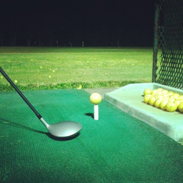 Head to the Driving Range