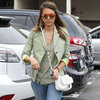 Jessica Alba Neon Wedges
