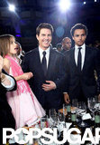 Tom Cruise had Suri and Connor at his Godiva Friars Club event in LA.