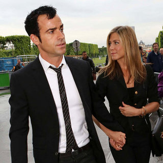 Jennifer Aniston und Justin Theroux in Paris