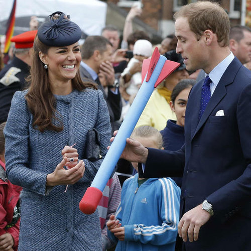 Kate Middleton, Prince William And The Queen Visit Nottingham For The Diamond Jubilee