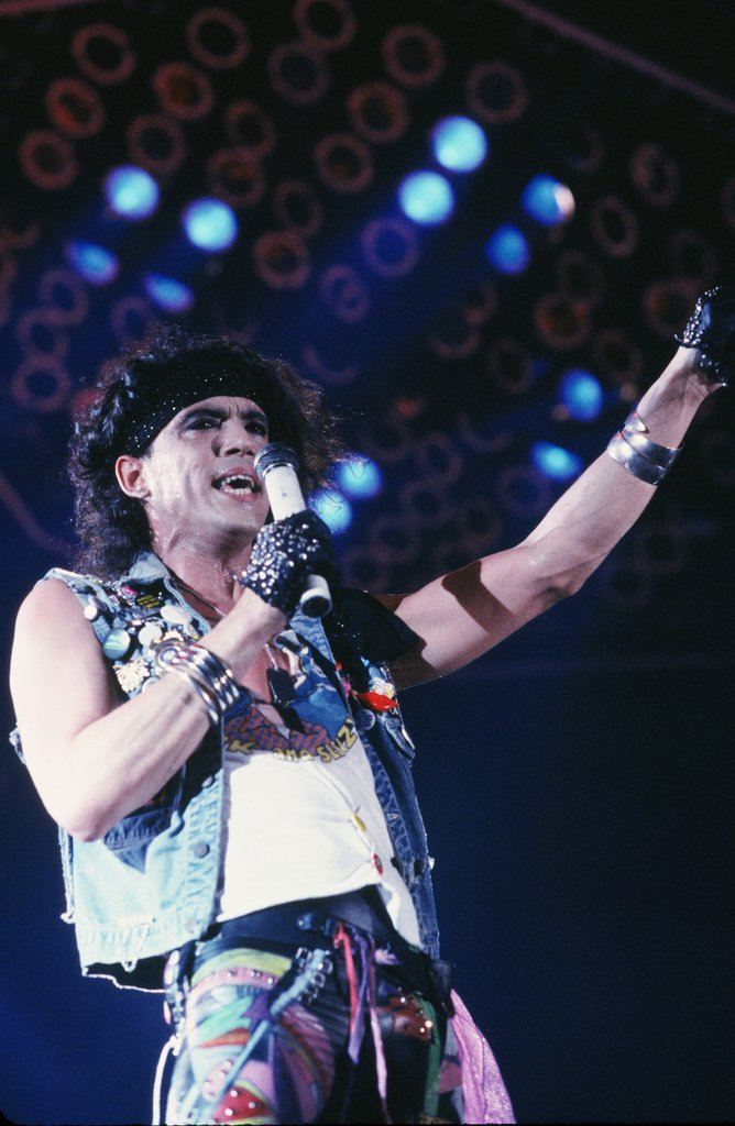 Stephen Pearcy of Ratt, 1987