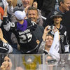 Celebrity Pictures at LA Kings vs New Jersey Devils Game 6 Stanley Cup Final