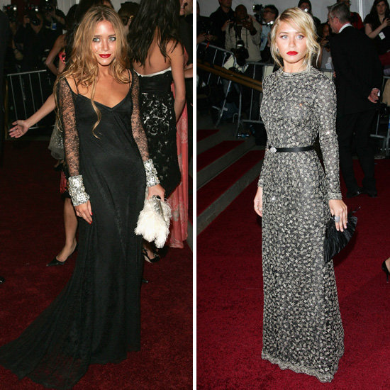 Long, lean and romantic, Mary-Kate and Ashley always make interesting red carpet choices.