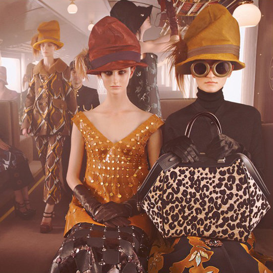 Revealed: Louis Vuitton's Fall 2012 Ad Campaign