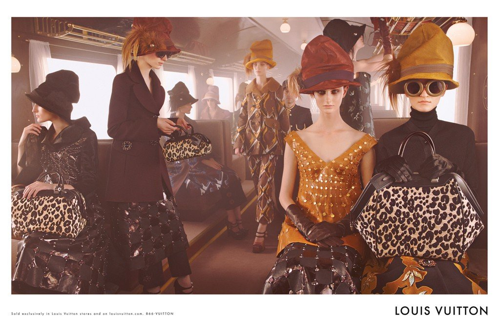 Louis Vuitton Fall 2012 Ad Campaign
