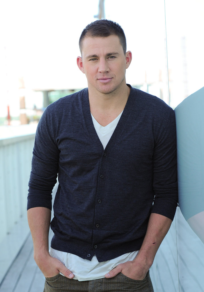 Channing Tatum posed for a portrait at the Thompson Hotel in Toronto.