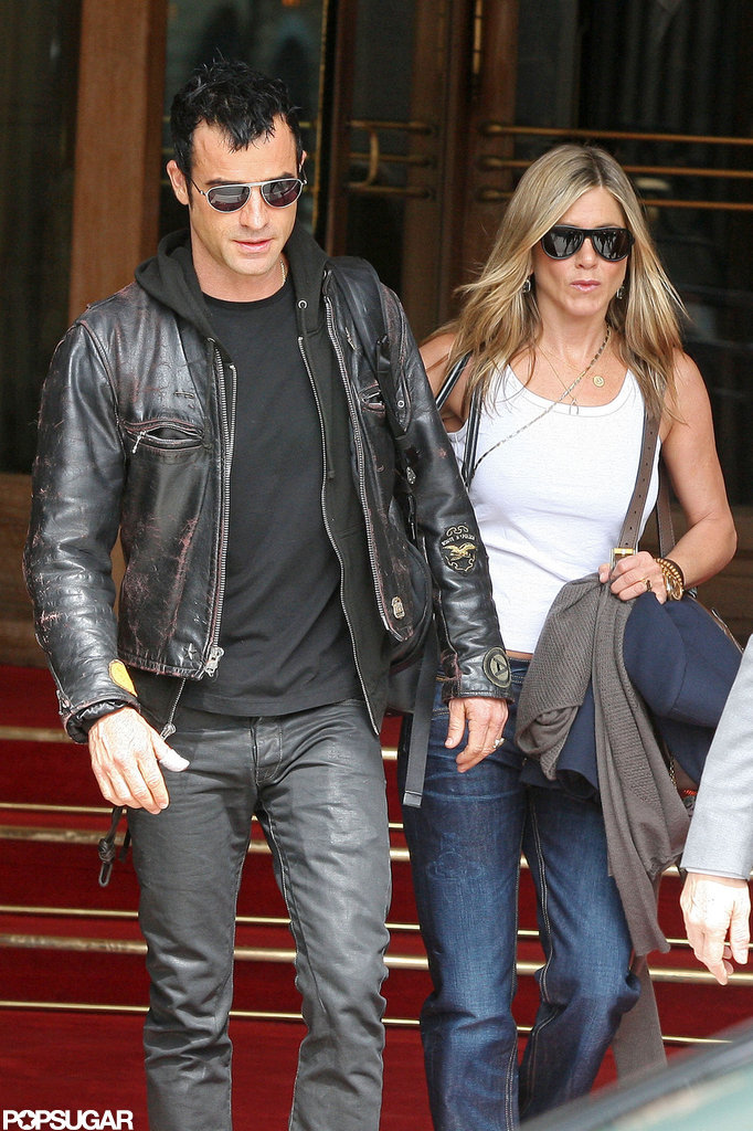 Jennifer and Justin Get an Early Start in Paris