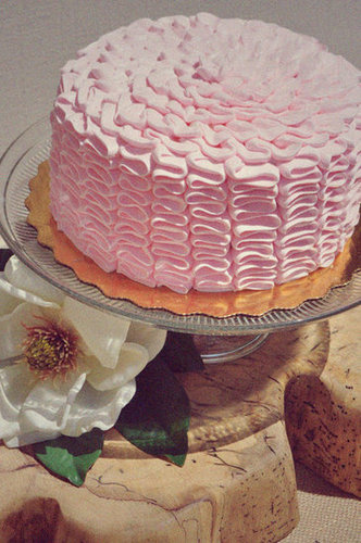 Make a Ruffle Cake