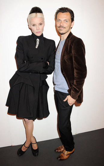Matthew Williamson and Daphne Guinness