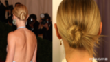 Get Gwyneth's Elegant Updo on Her 40th Birthday