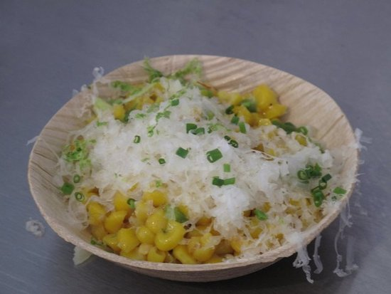 Best New Chef Dish: Corn With Manchego