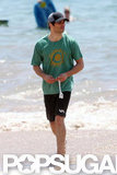 James Marsden enjoyed the beach in Hawaii.