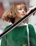 Rachel McAdams Shows Off a Short New Hairstyle on Set in London