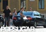 Jennifer Aniston and Justin Theroux Take Their Eurotrip to Rome!