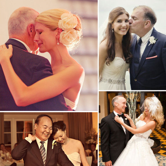 Try not to tear up when you read Très sweet roundup of father-daughter wedding moments.