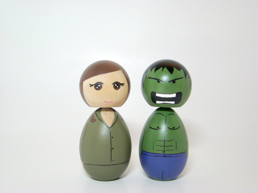 Hulk and Betty Cake Toppers ($52)