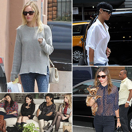 Celebrity Style Recap For June 11, 2012
