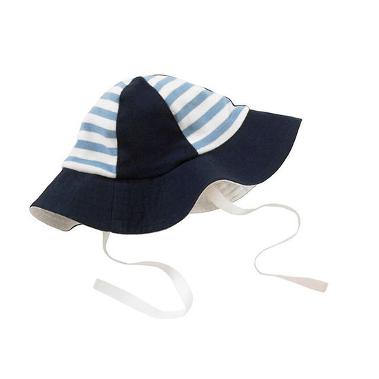 Giggle Better Basics Striped Sun Hat ($18)