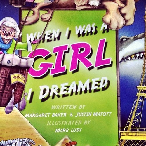 "Vanessacallaway says this about children's book When I Was a Girl I Dreamed, ""The most amazing book!! buy it for the girls/women in your life!!"""