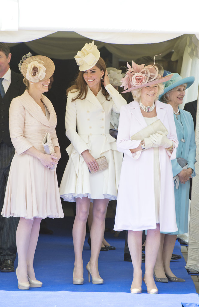 Kate Middleton and Camilla attended the Order of the Garter service in London on June 18.