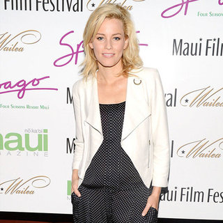 Elizabeth Banks Polka-Dot Jumpsuit
