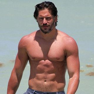 Joe Manganiello Shirtless Pictures in Miami