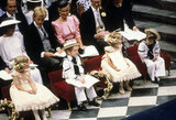 Prince William was in Westminster Abbey for the wedding of Prince Andrew and Sarah Ferguson in July 1986.