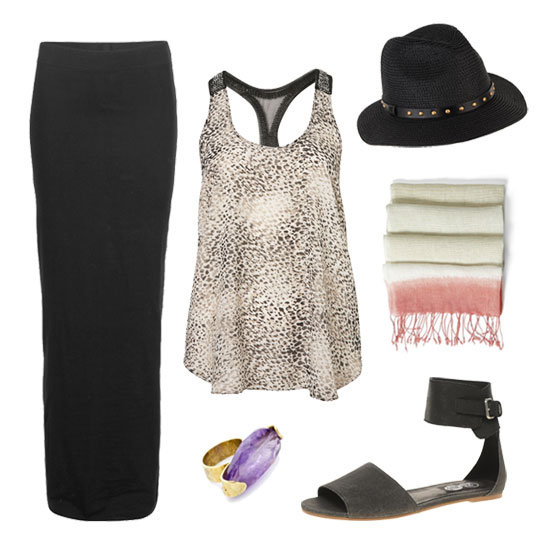 One Simple Maxi Skirt, Transformed Seven Fabulous Ways