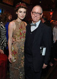 Keira Knightley posed with James Schamus at the afterparty for the LA premiere of Seeking a Friend For the End of the World.