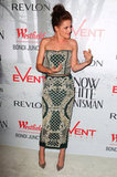 Kristen Stewart wore a two-piece Balmain ensemble in Australia.