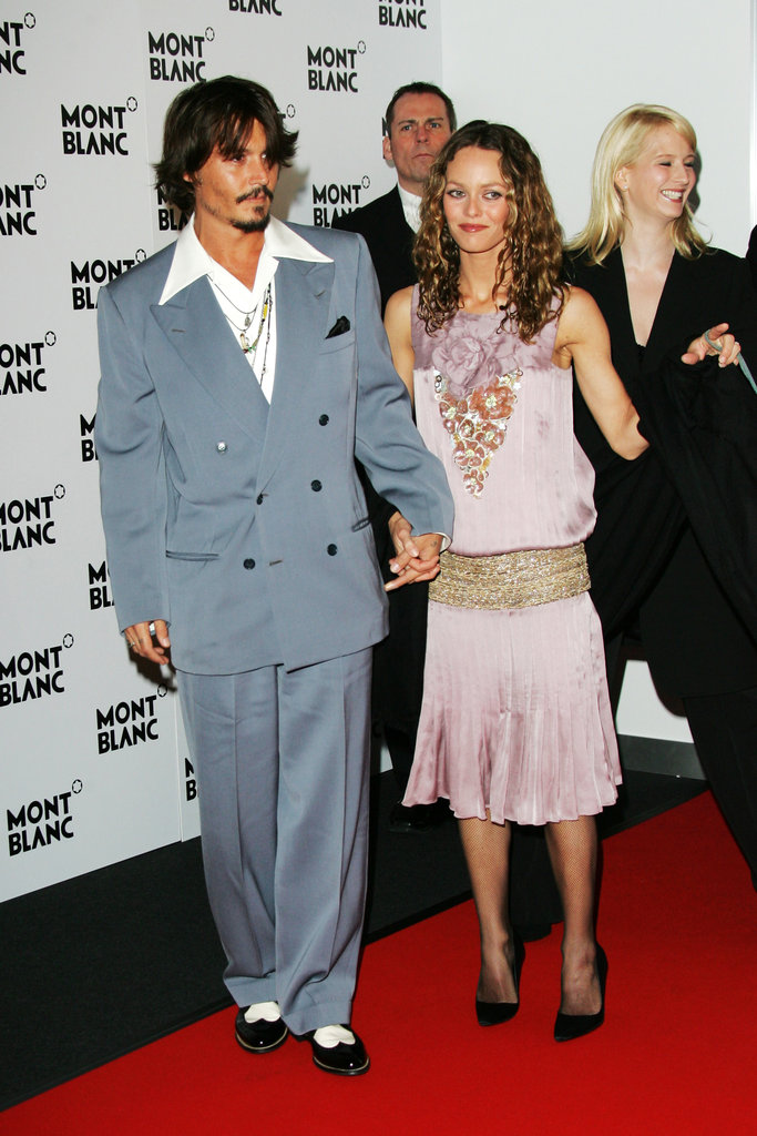 In April 2006, Johnny Depp and Vanessa Paradis attended a basg in Geneva, Switzerland.